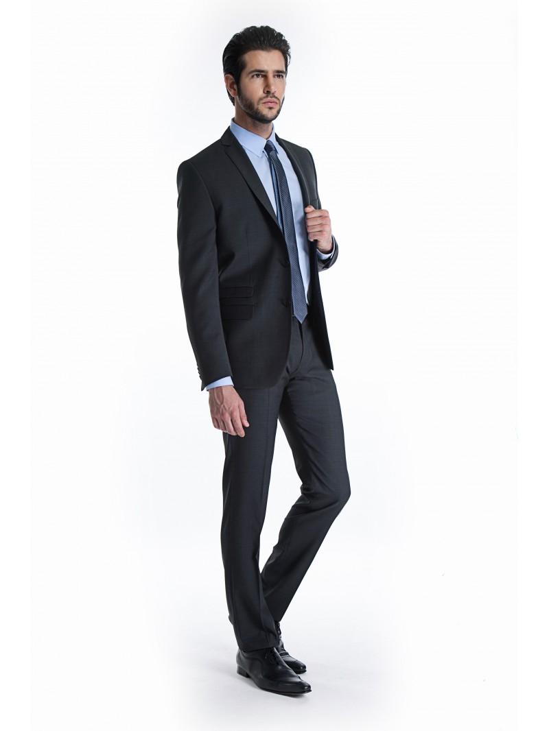 costume homme slim j 39 aime le cintr. Black Bedroom Furniture Sets. Home Design Ideas